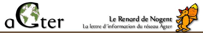 La lettre d'information du réseau Agter